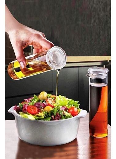 Kitchen Love 2 li Borosilikat-Cam Yağlık&Sirkelik-17cm-TURKMALI Renkli